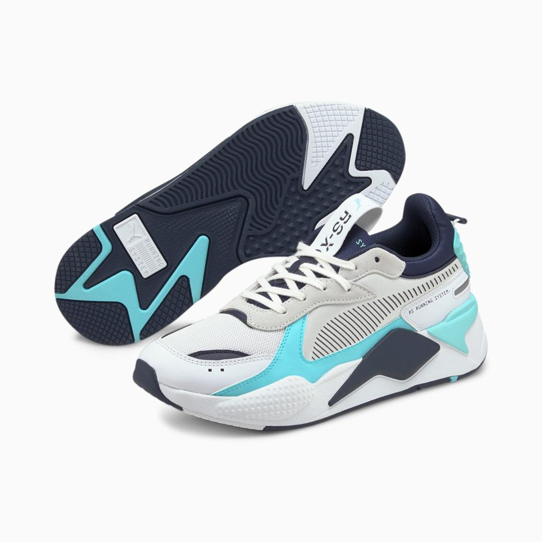 PUMA RS-X Mix Men Sneakers - White/ Angel Blue (380462-02)