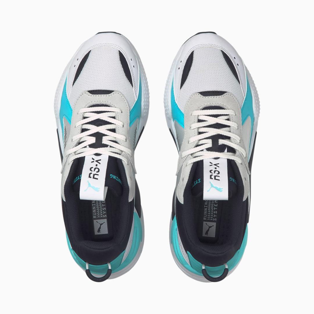 PUMA RS-X Mix Παπούτσια Αθλητικά Ανδρικά Λευκό/ Μπλε (380462-02)