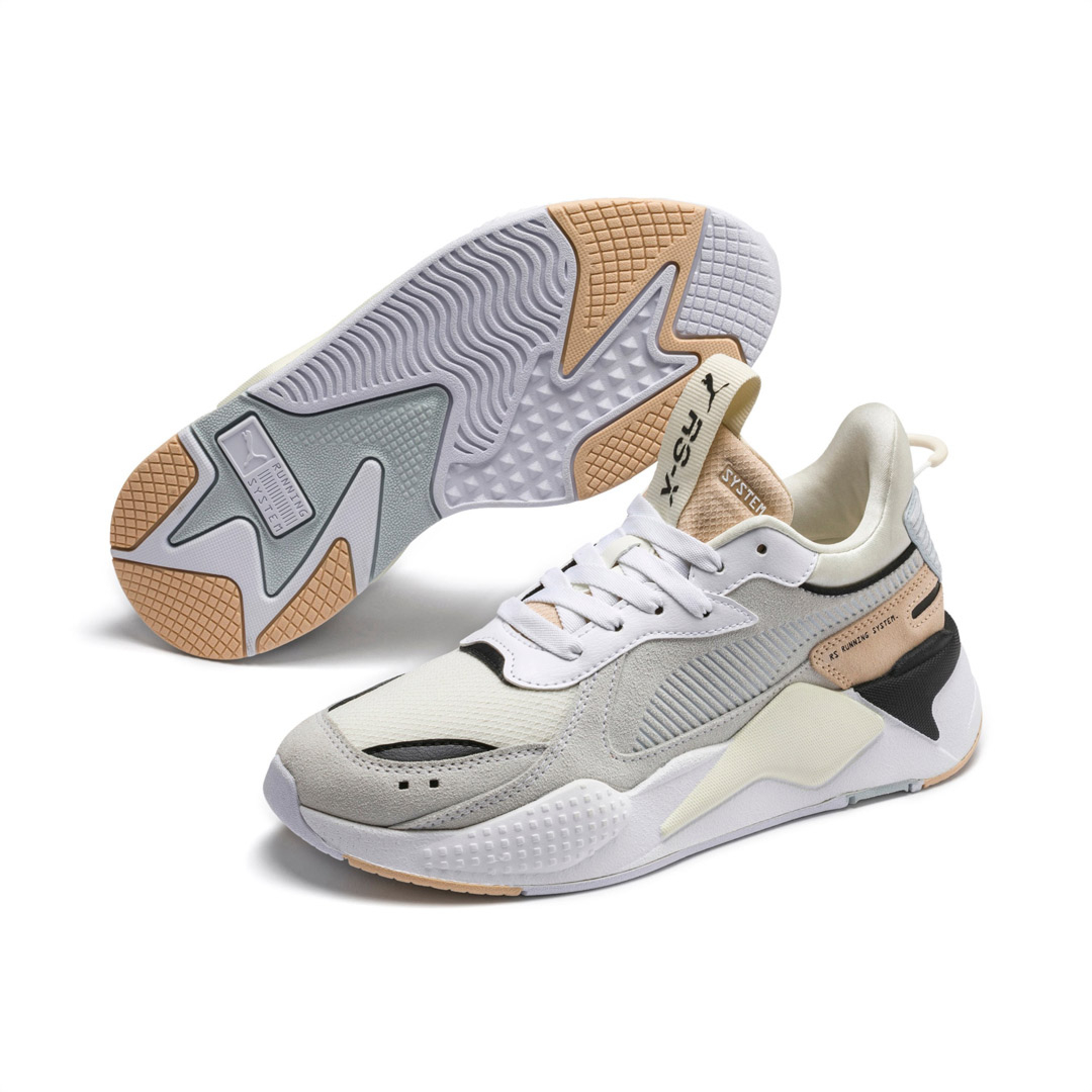 PUMA RS-X Reinvent Wn's Sneakers - White/ Natural Vachetta (371008-05)