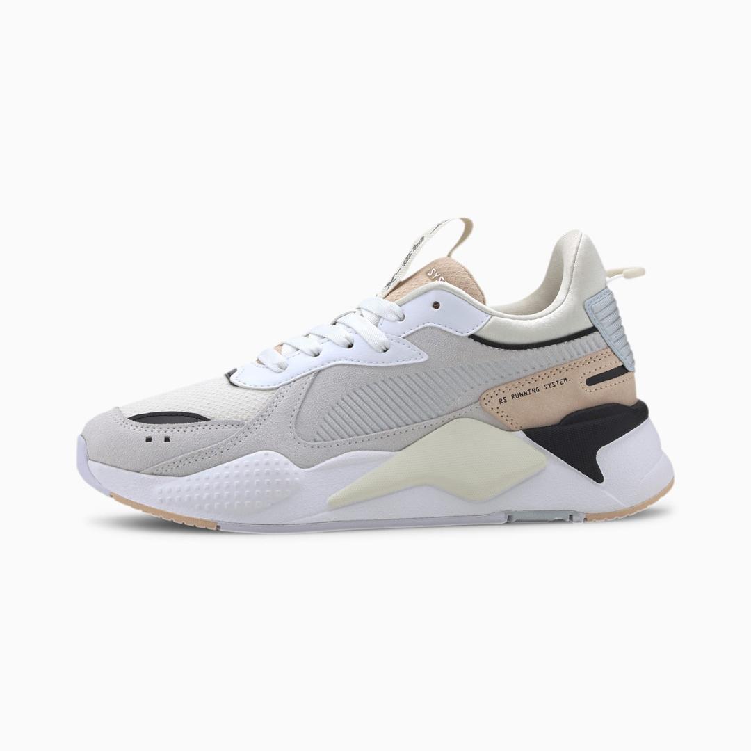 PUMA RS-X Reinvent Women Sneakers - White/ Natural Vachetta (371008-05)