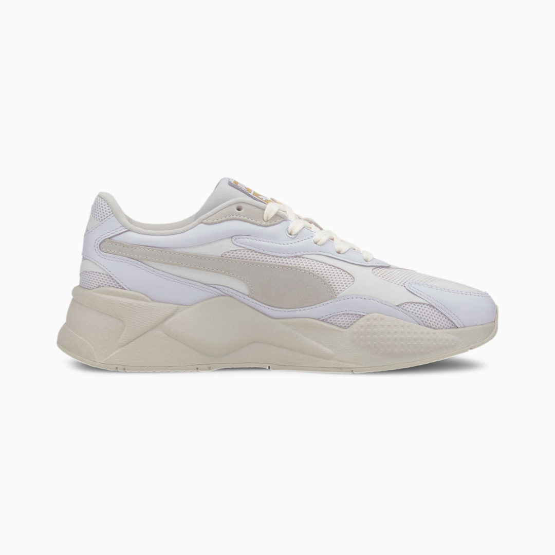 PUMA RS-X³ Luxe Trainers - White/ Whisper White (374293-01)