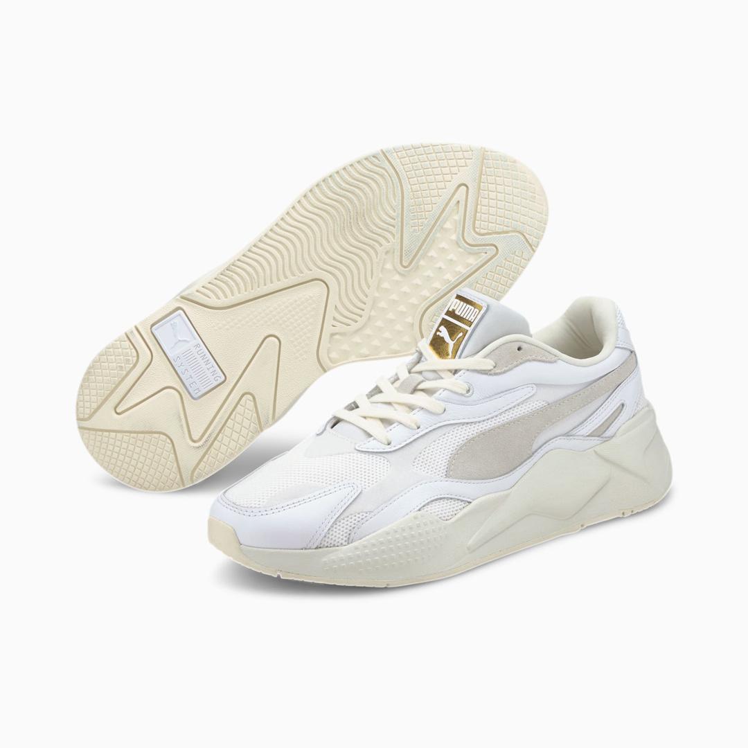 PUMA RS-X³ Luxe Παπούτσια Αθλητικά Λευκό (374293-01)