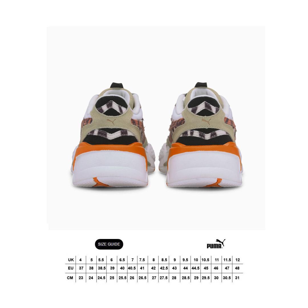 PUMA RS-X³ WildCats γυναικεία αθλητικά παπούτσια - Pale Khaki/ White (373953-01)
