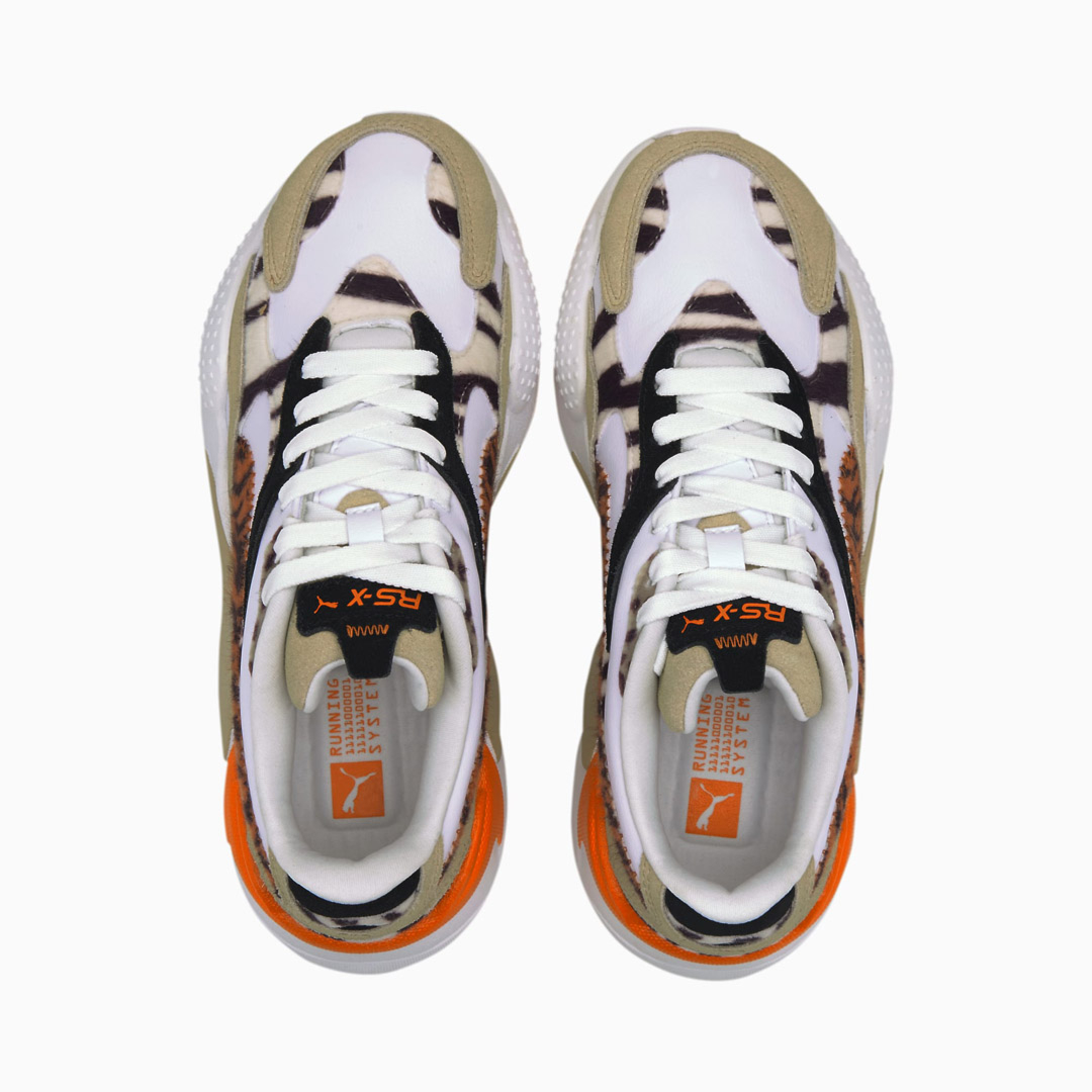 PUMA RS-X³ WildCats Wn's Sneakers - Pale Khaki/ White (373953-01)