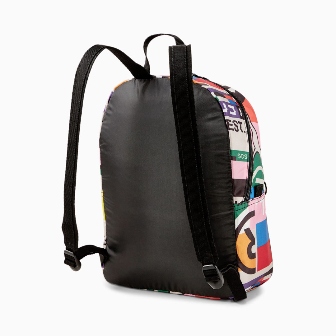 Puma Street Backpack AOP International Printed - Black/ Multi (077952-02)