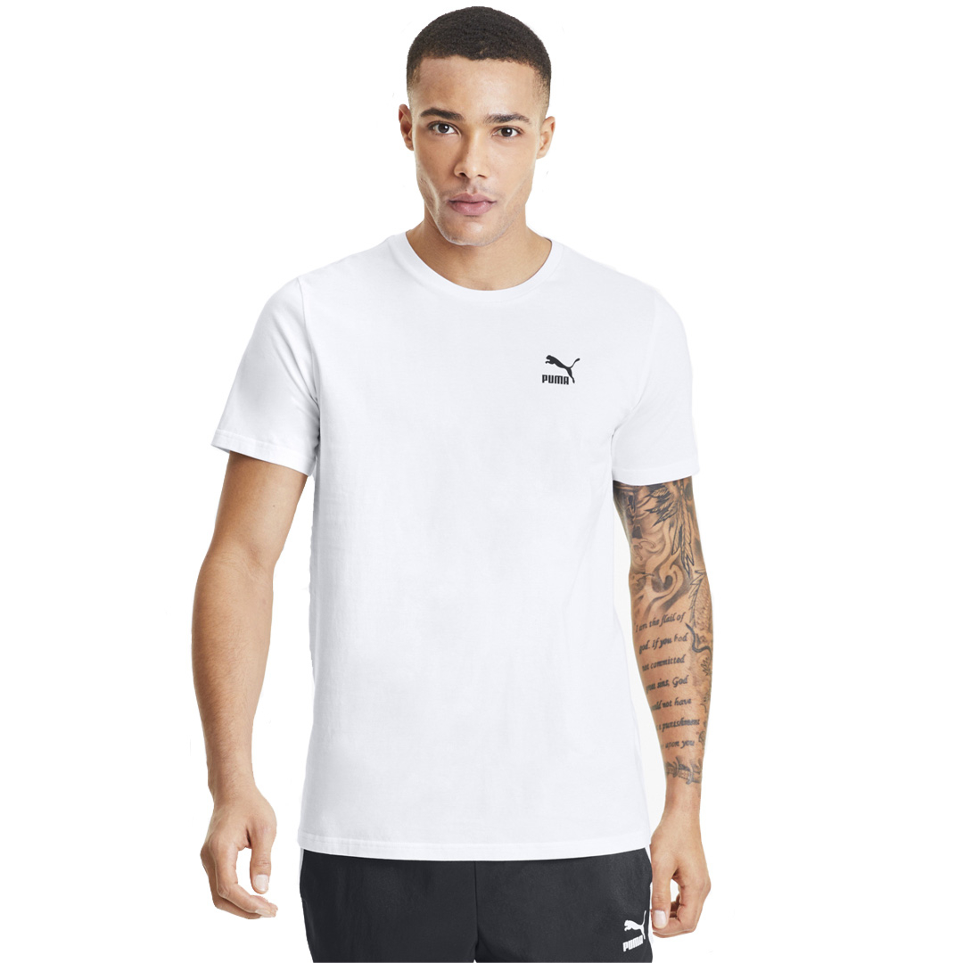 PUMA Tailored for Sport Graphic Tee - White (597167-52)