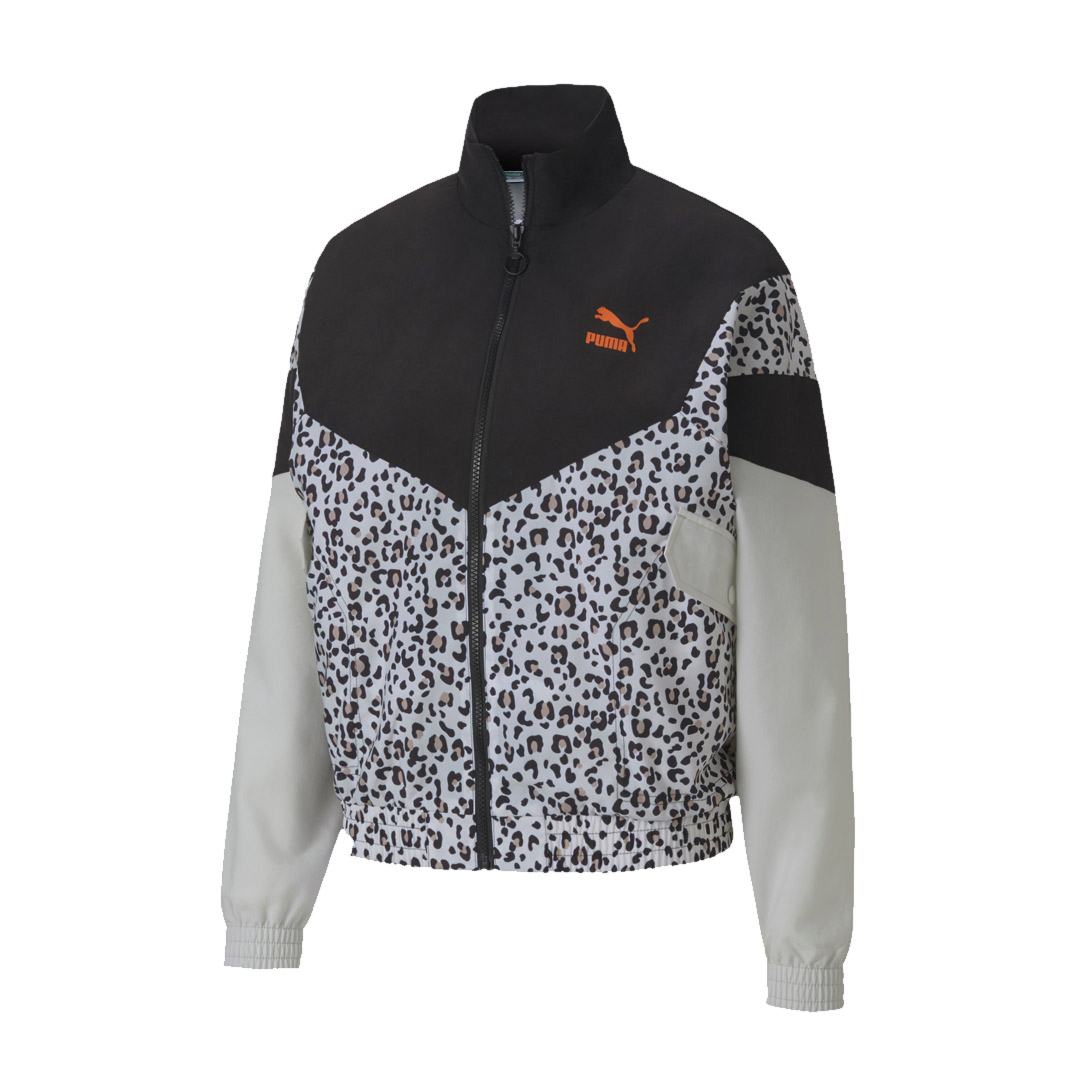 PUMA TFS Printed Track Jacket Women - Black (598957-01)