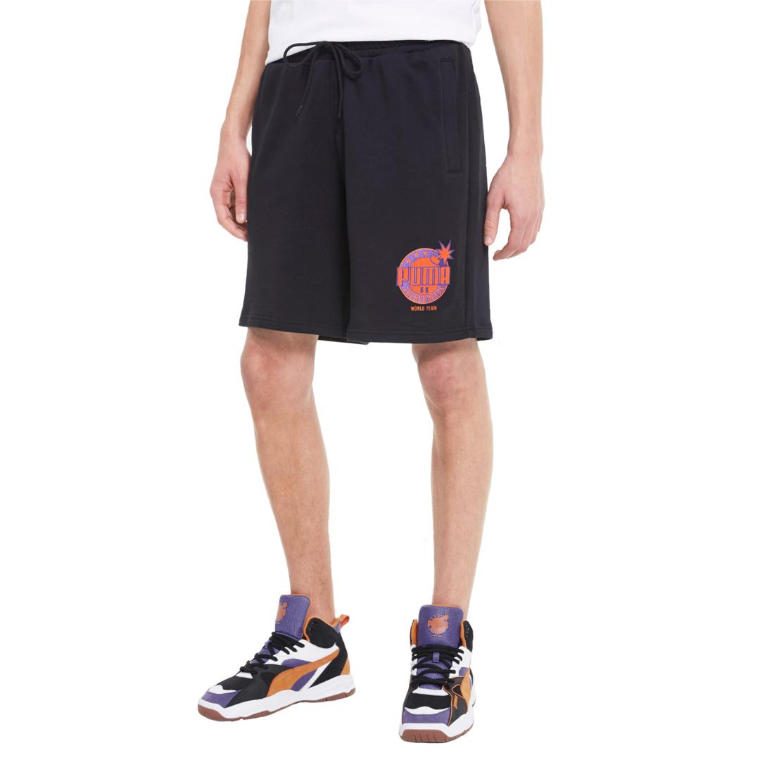 PUMA x THE HUNDREDS Men Shorts - Black (596751-01)