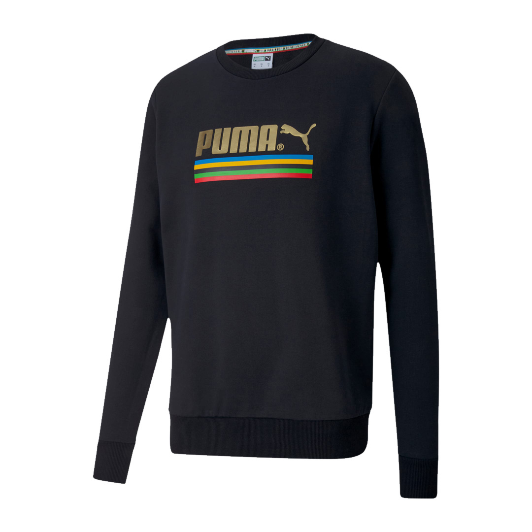 PUMA Unity Collection TFS Crew Men Sweat - Black (598091-01)