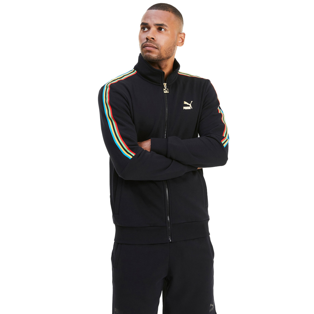 PUMA Unity Collection TFS Track Top - Black (597612-01)