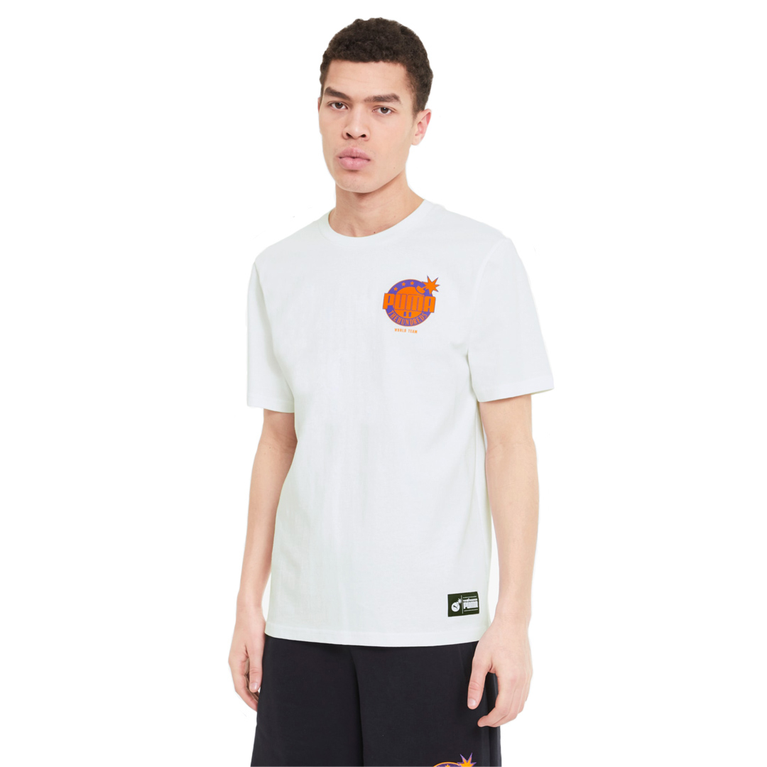 PUMA x THE HUNDREDS Men Tee - White (596750-02)