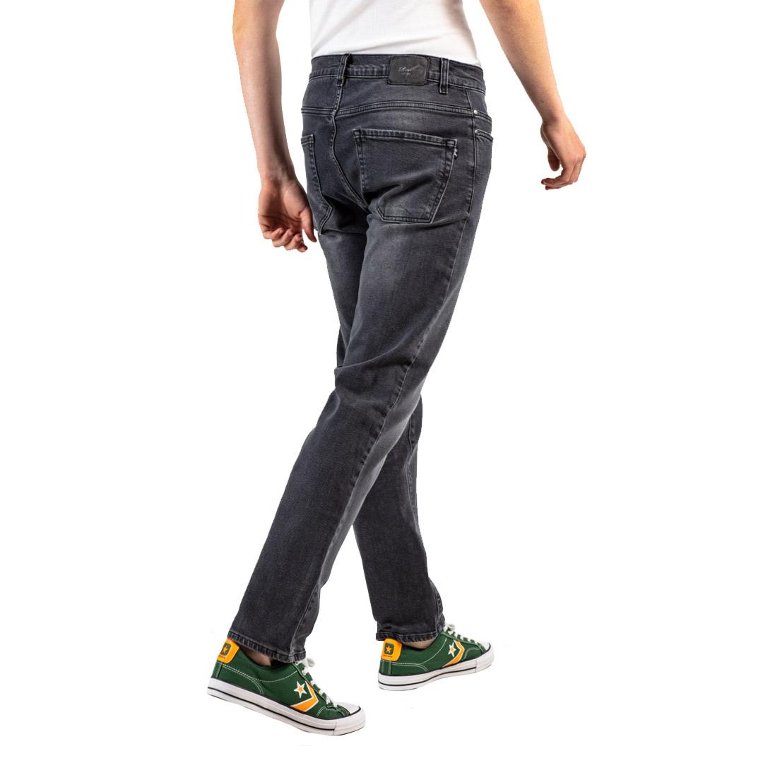 REELL Jeans Barfly Straight men - Black Wash (RLJ19505)