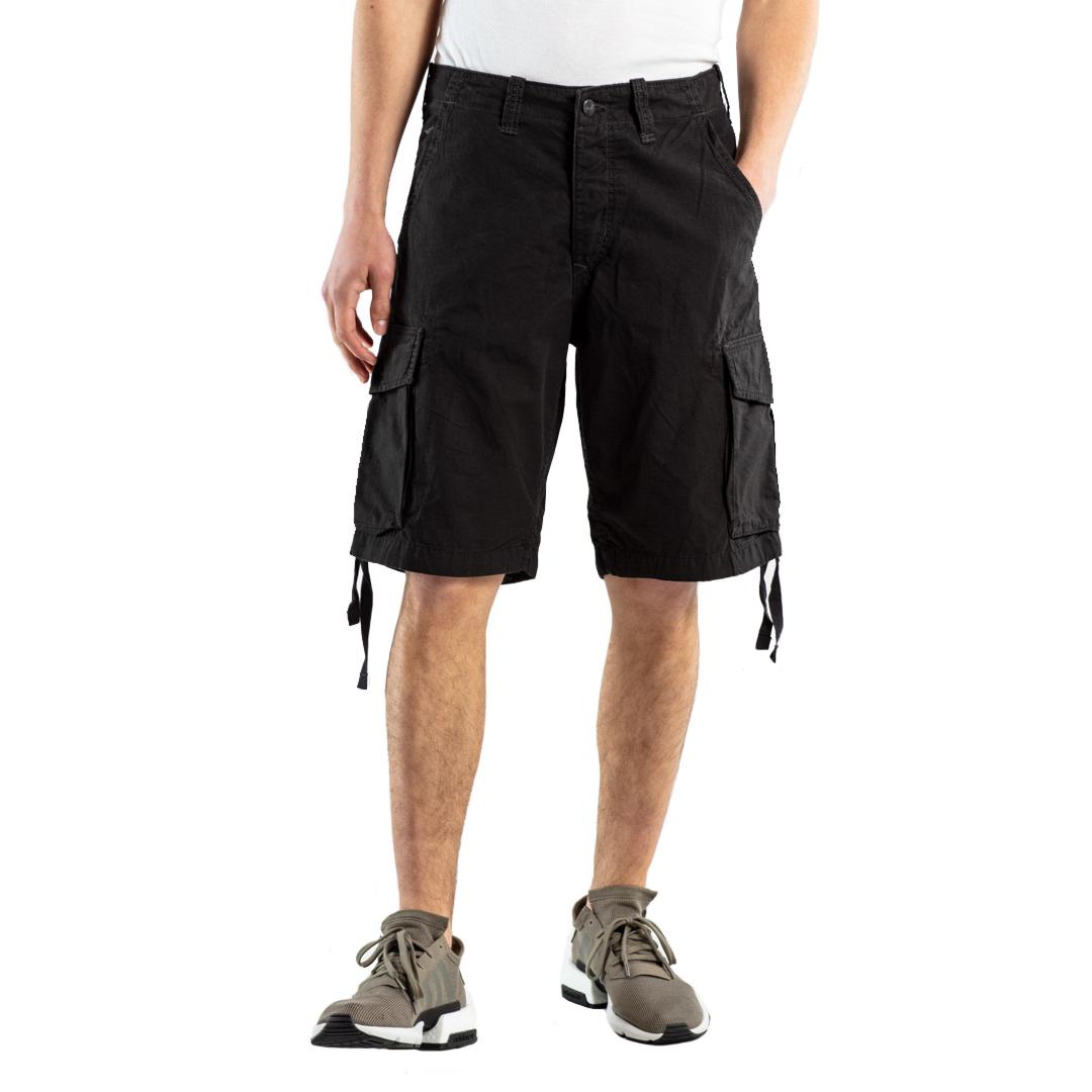 REELL New Cargo Men Short - Black (front)