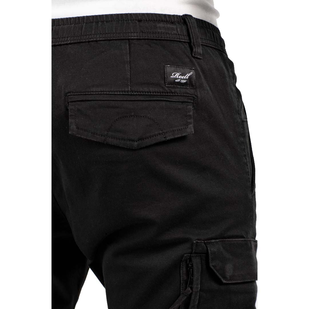 REELL Reflex Easy Cargo Pants - Black