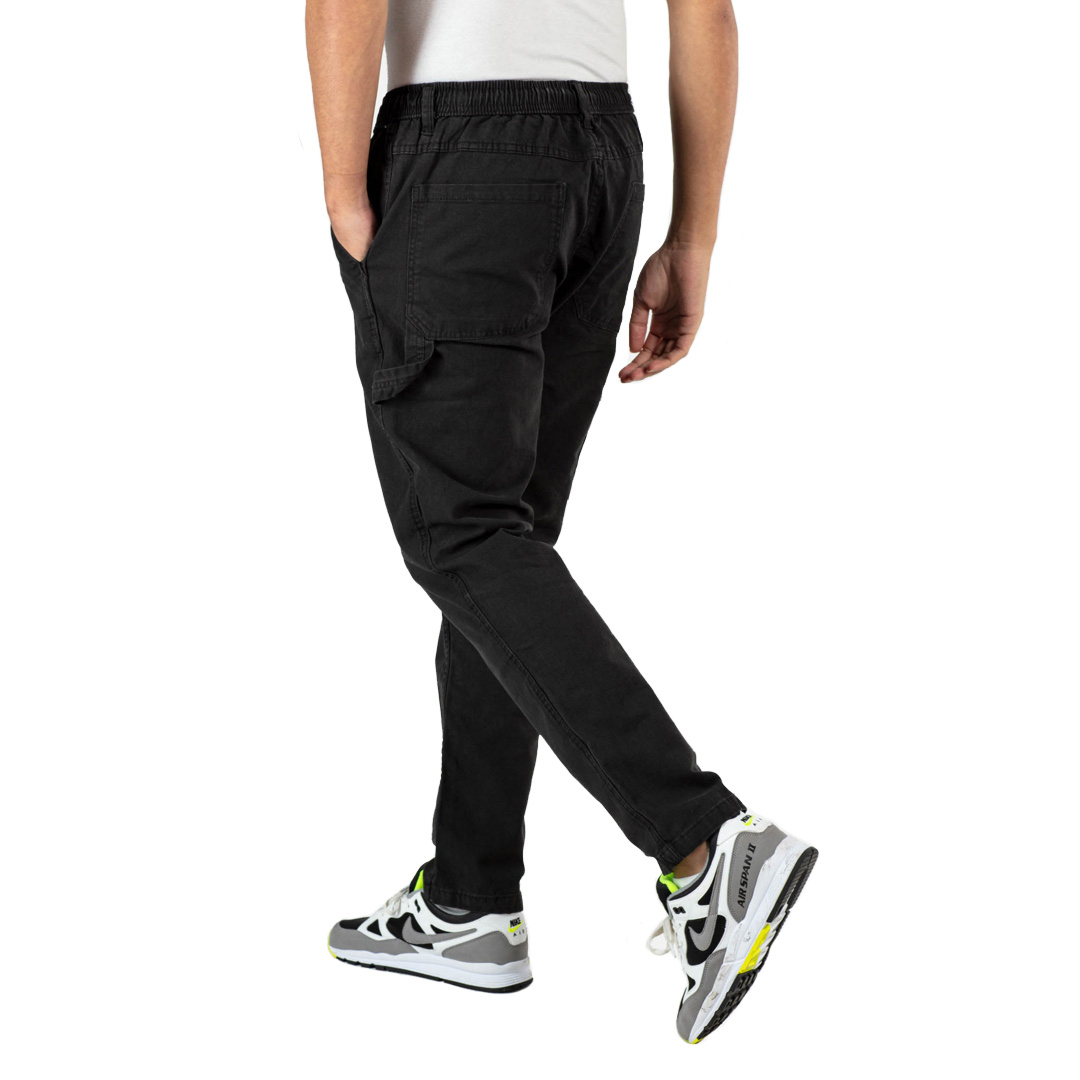 REELL Reflex Worker Men Pants Canvas - Black (RLJ19517)