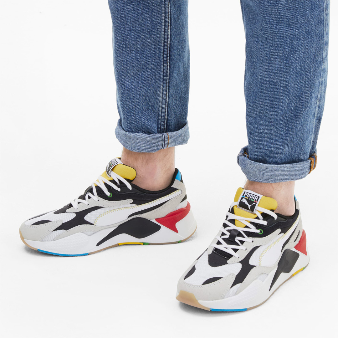 PUMA RS-X³ WH Unity Collection Trainers - White/ Black
