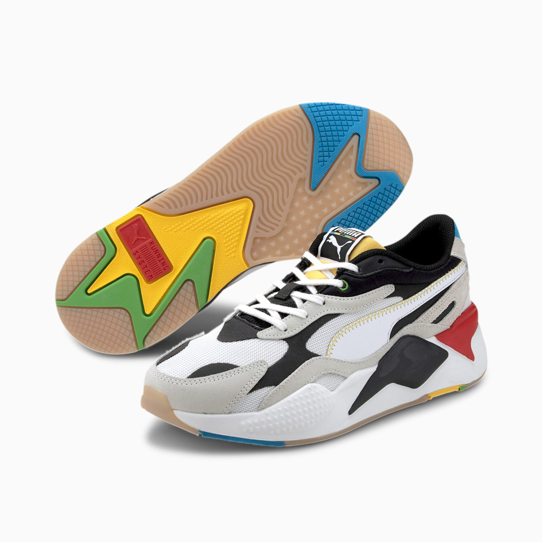 PUMA RS-X³ WH Men Sneakers - White/ Black (373308-01)