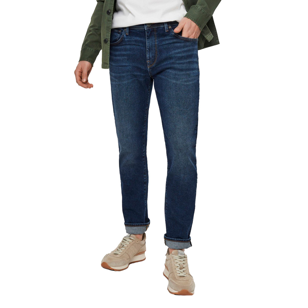 SELECTED Leon Jeans Slim Tapered - Dark Blue (16075652)