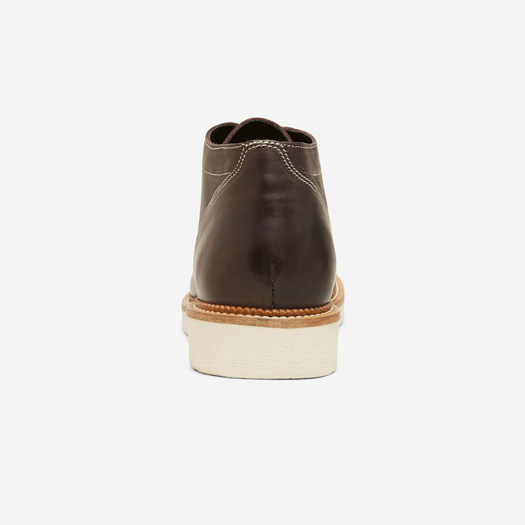 SELECTED Leather Handmade Men Boots in Chocolate Brown (16081330)