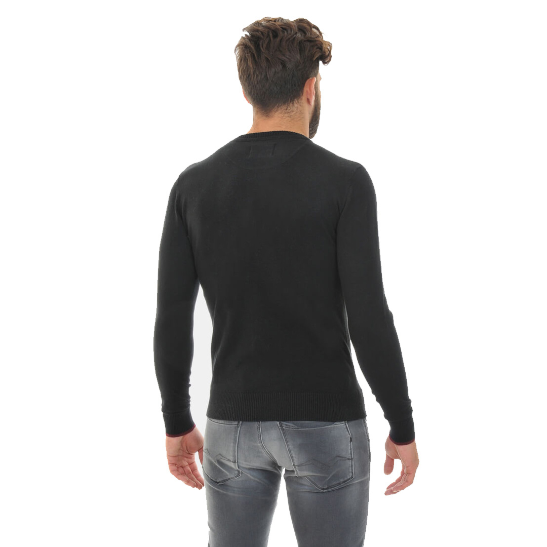 Smithy's Crew Men Knit - Black (SMS-15302)