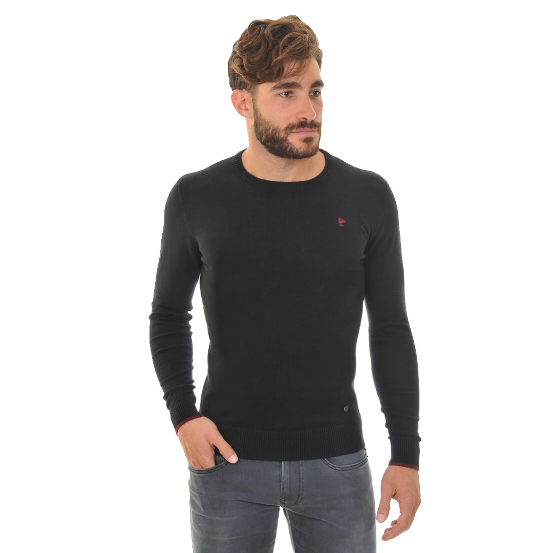 Smithy's Crew Men Knit - Black