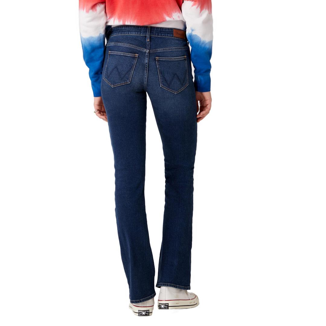 WRANGLER Bootcut Jeans Women - Dusty Trail (W28B-UN-14G)