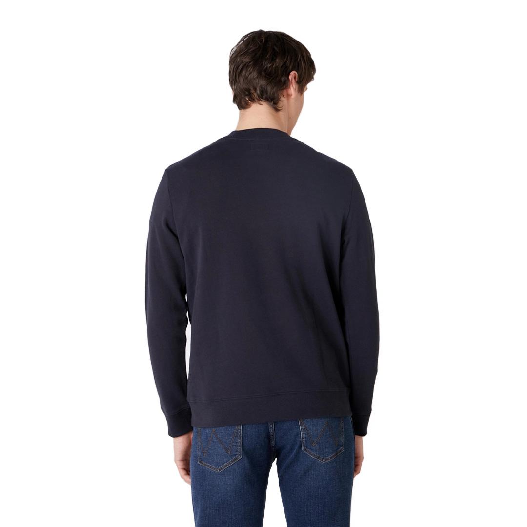 WRANGLER Explorer Sweatshirt - Dark Navy (W6D0-HY-XAE)