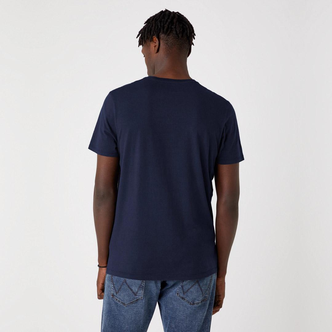 WRANGLER Graphic Men T-Shirt in Dark Navy (W7AID3XAE)