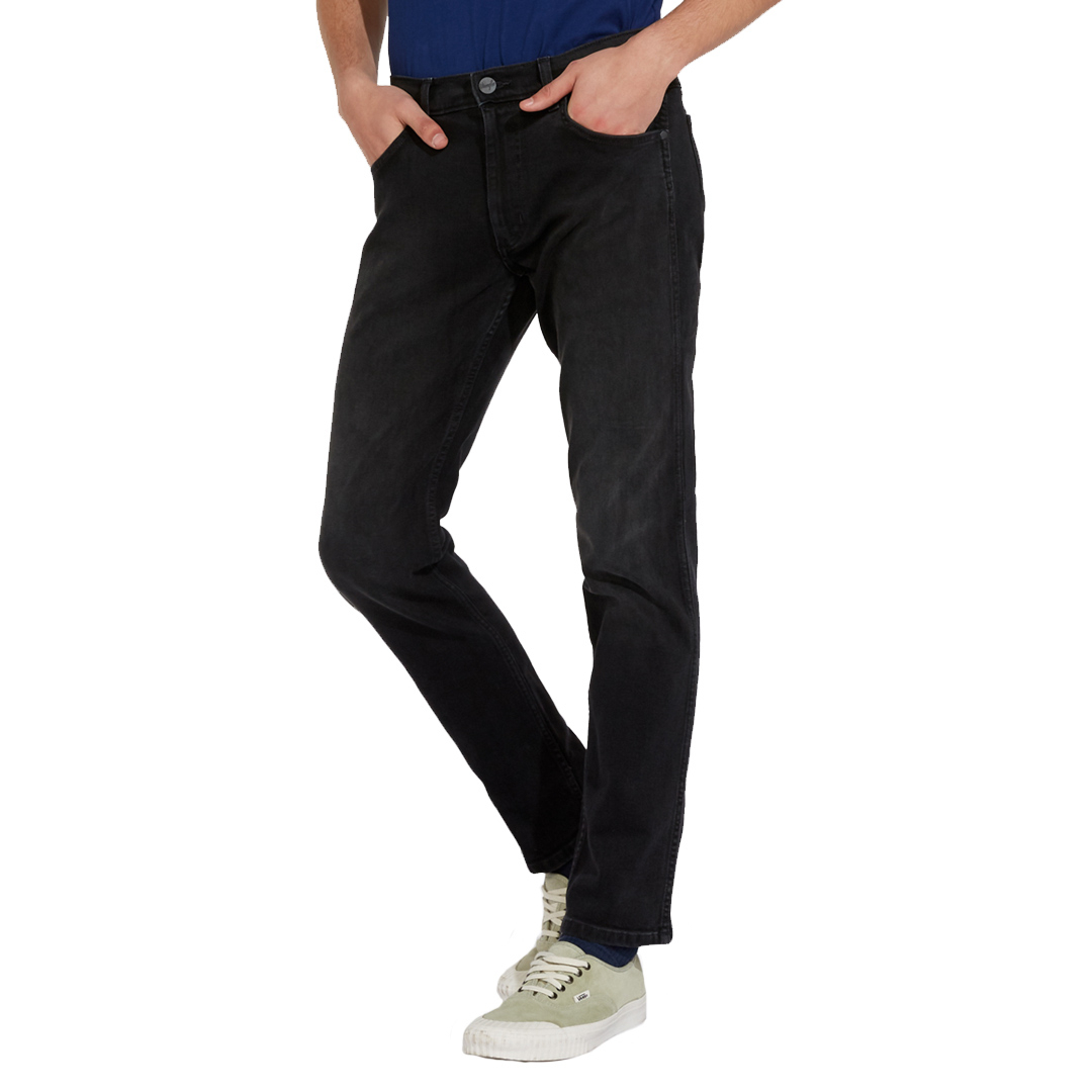 WRANGLER Greensboro Jeans - Black Walker (W15Q-U3-60D)