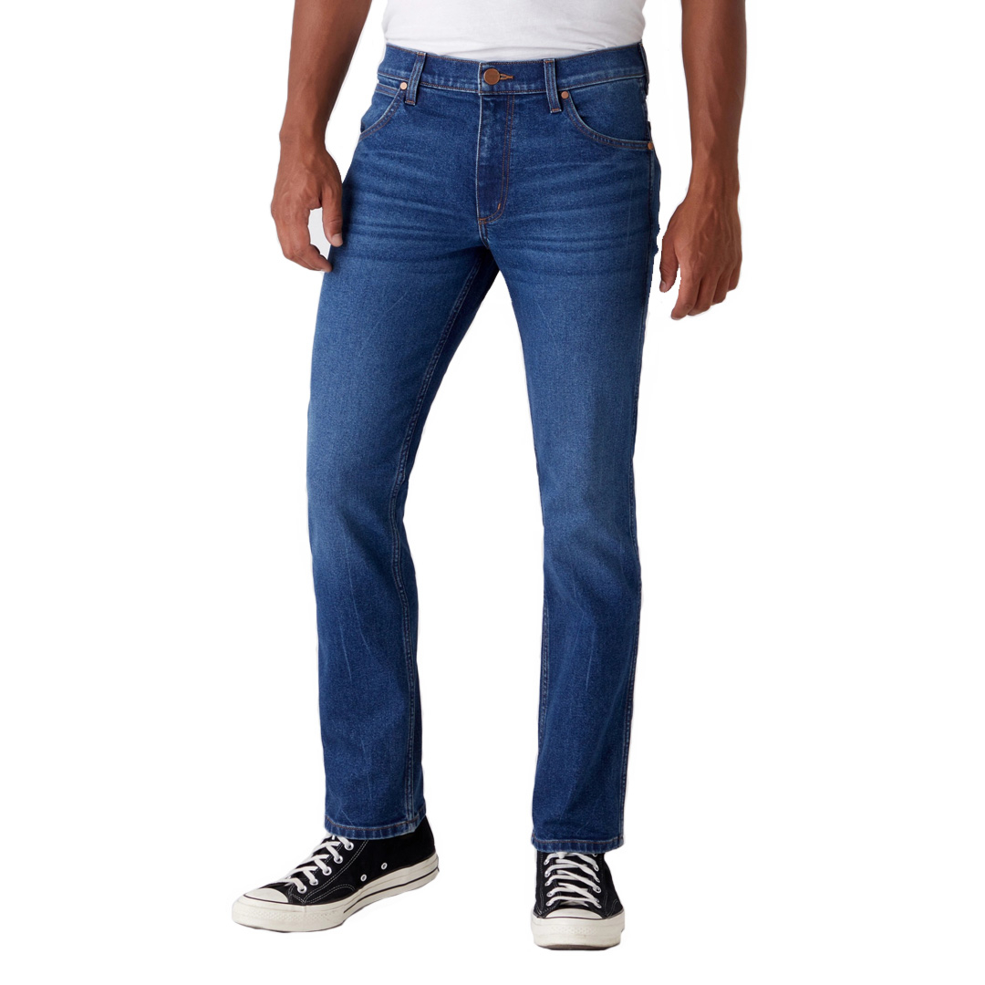 WRANGLER Greensboro Jeans Regular - Frost Bite (W15QU858J)