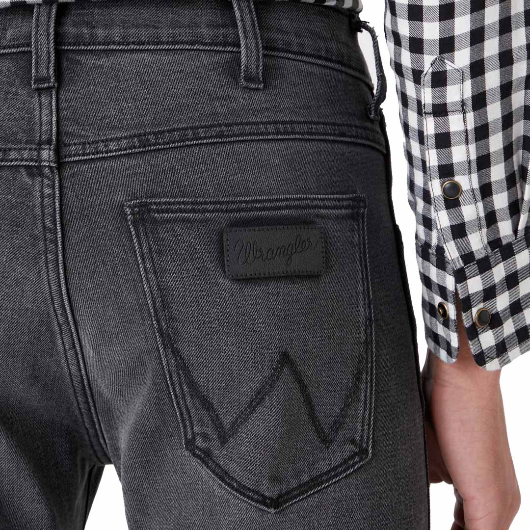 WRANGLER Larston Men Jeans - Silver Smooth (W18S-Z3-68T)