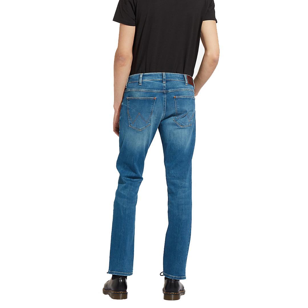 WRANGLER Larston Jeans Tapered - Far Green (W18S-99-029)