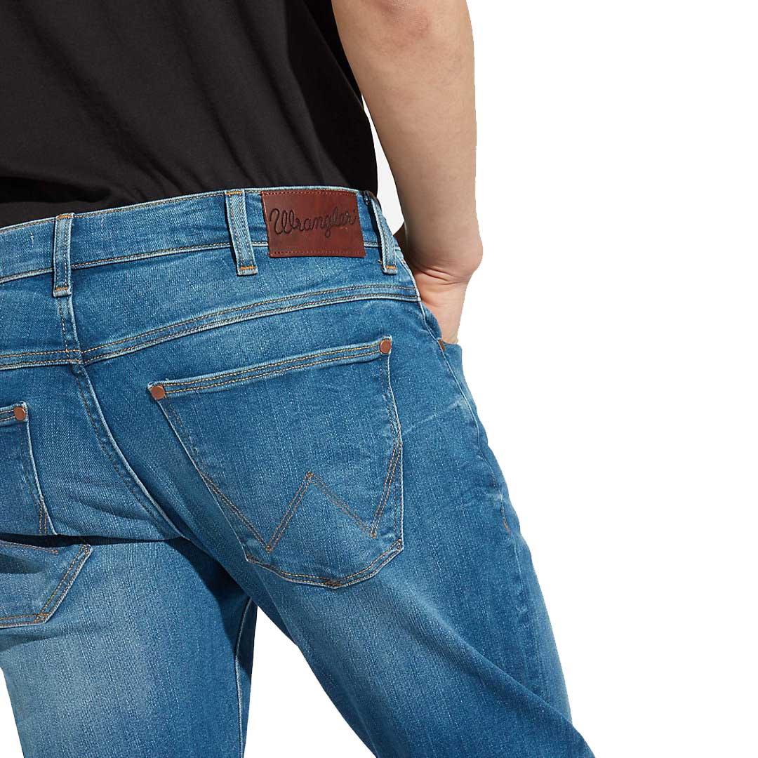 WRANGLER Larston Jeans Men Tapered - Far Green (W18S-99-029)
