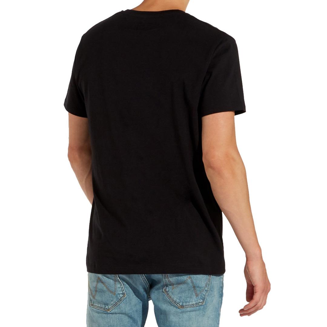 WRANGLER Multi Color Logo T-Shirt in Black (W7C25FQ01)