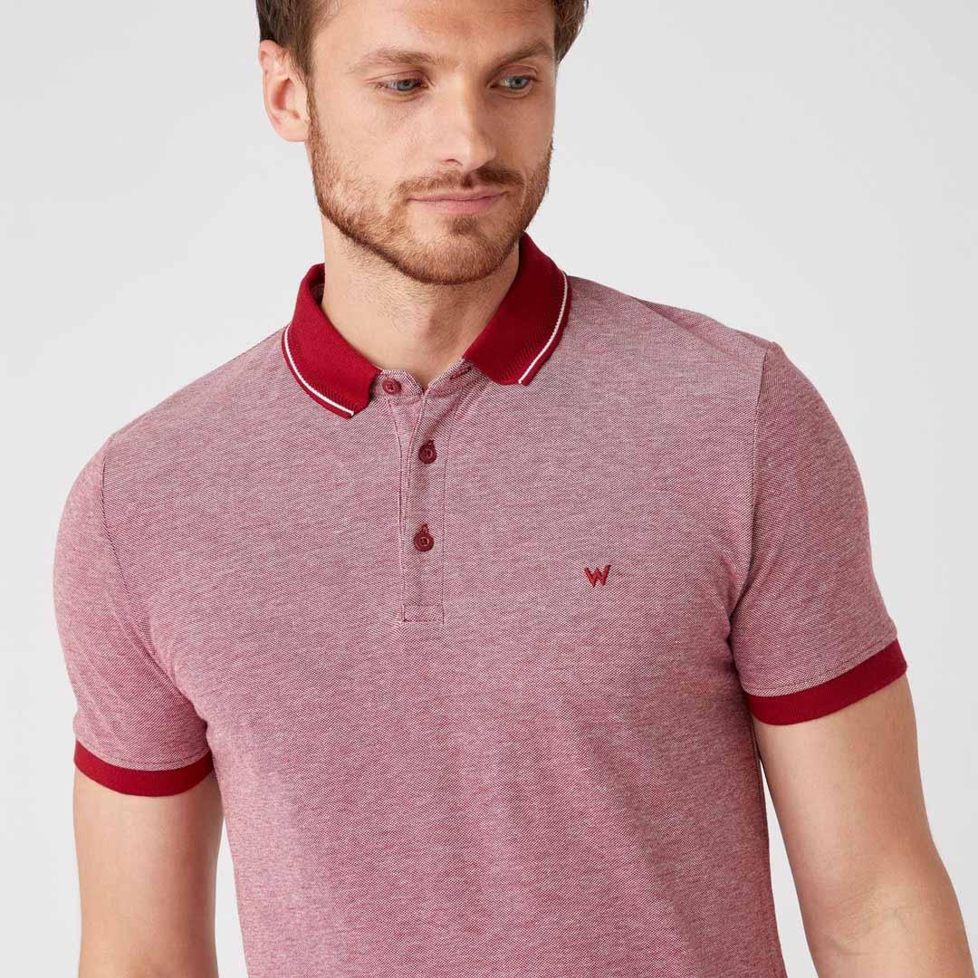 WRANGLER Polo Ανδρικό Μπλουζάκι (W7AFKHX2G)