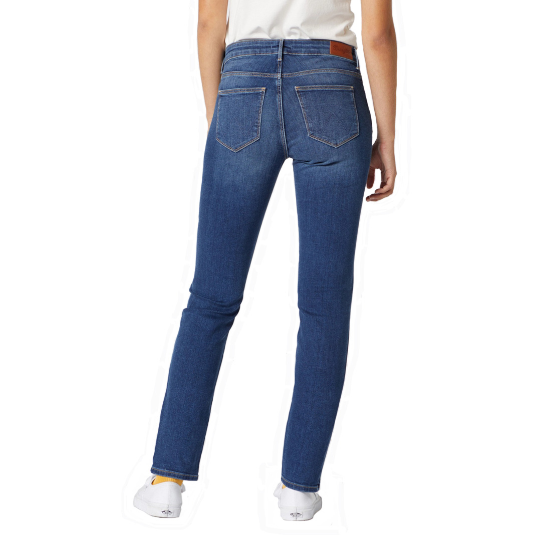 WRANGLER Jeans Slim Fit Women - Authentic Blue (W28L-X7-85U)