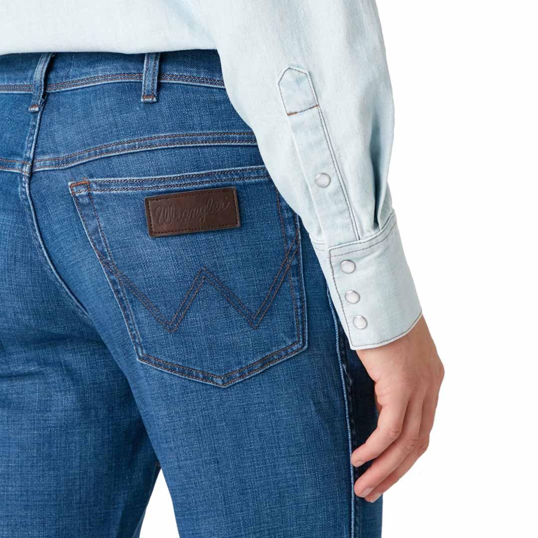 WRANGLER Texas Jeans Straight - Stone Lite (pocket)