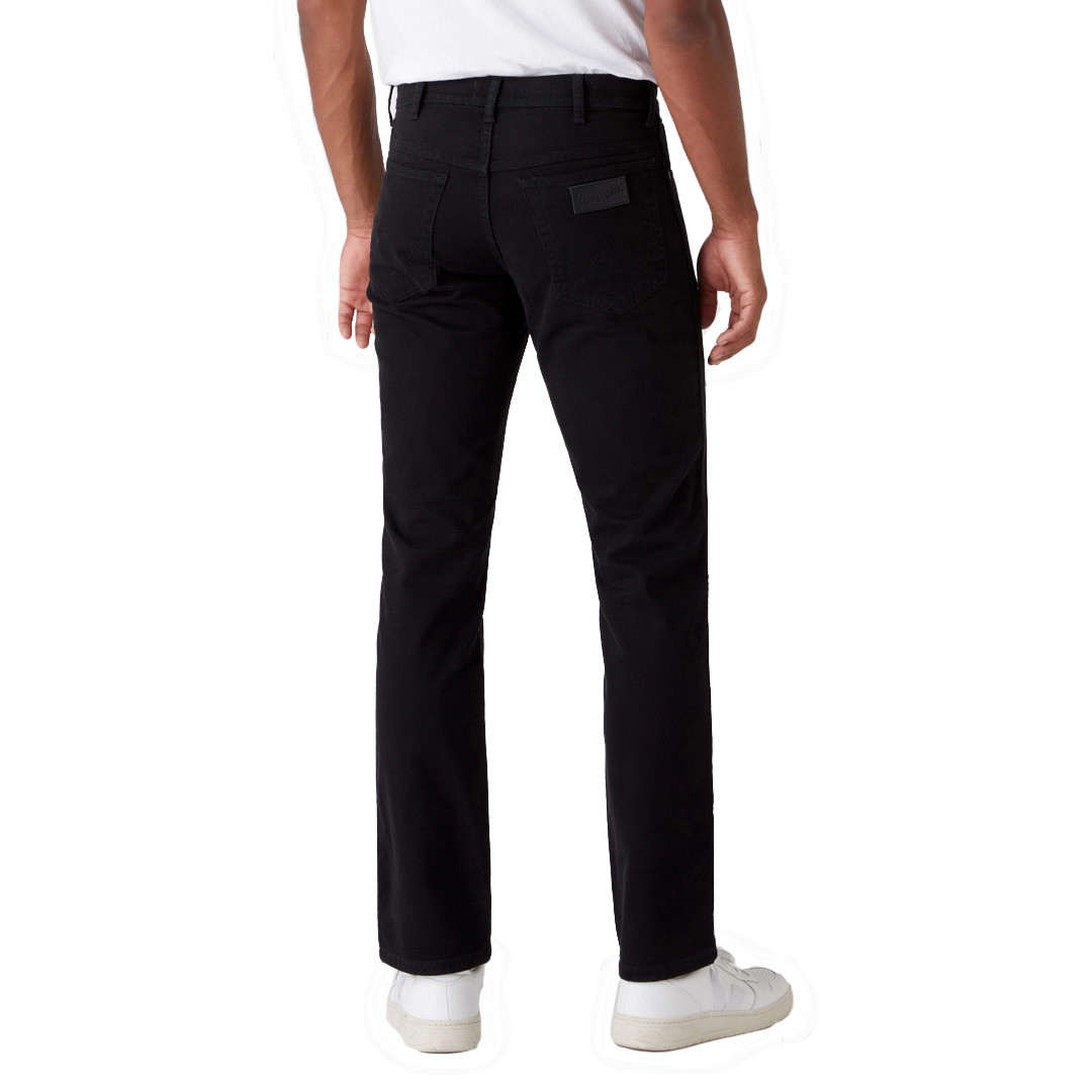 WRANGLER Texas Men Trousers Straight - Black (W121TA100)