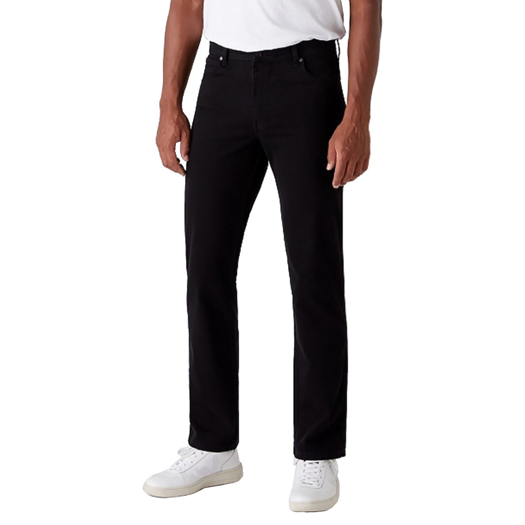WRANGLER Texas Trousers Straight - Black (W121TA100)
