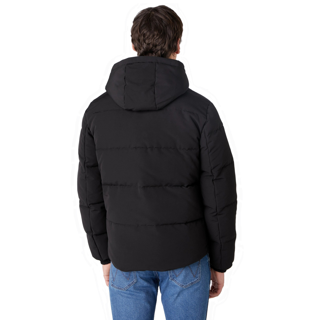 WRANGLER The Bodyguard Men Jacket - Black (W4C8-WW-100)